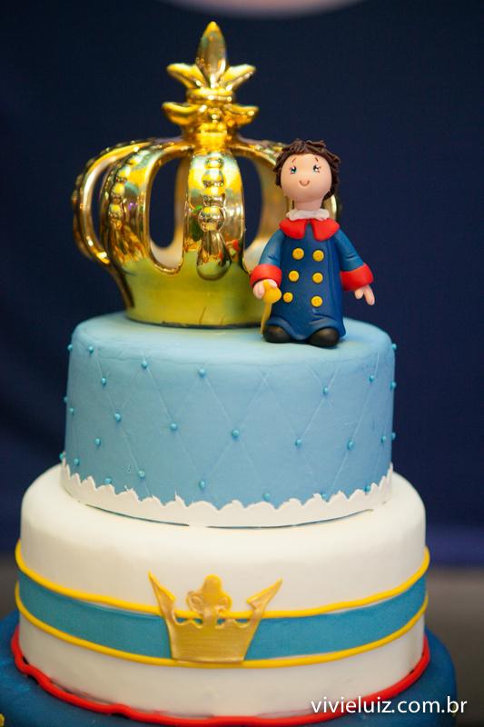 detalhes do bolo do pequeno príncipe