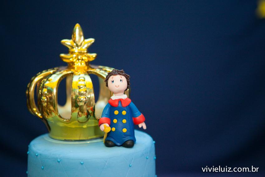 do pequeno príncipe no bolo