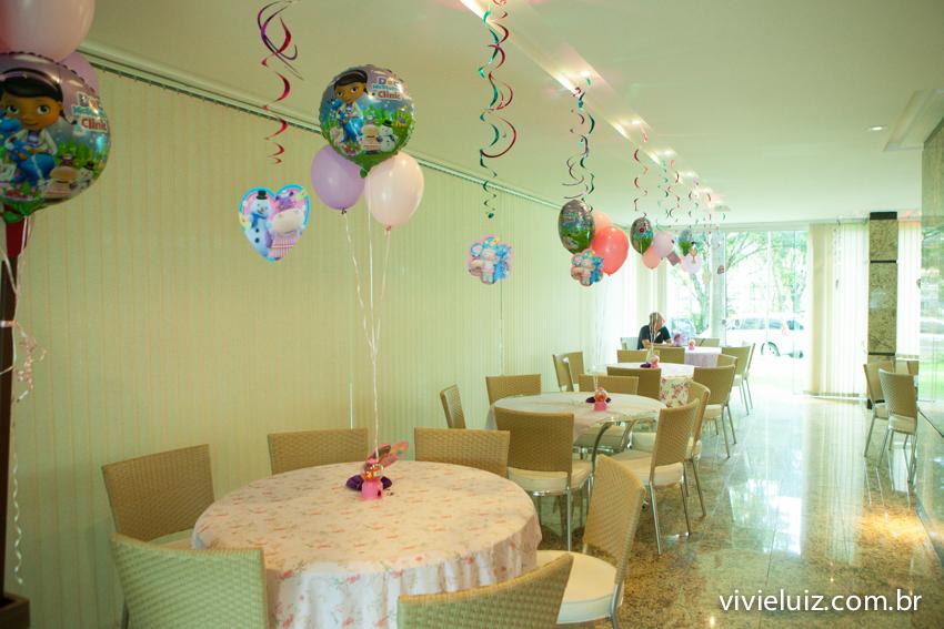 mesas da decoração