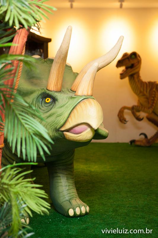 dinossauros da decoração de jurassic park