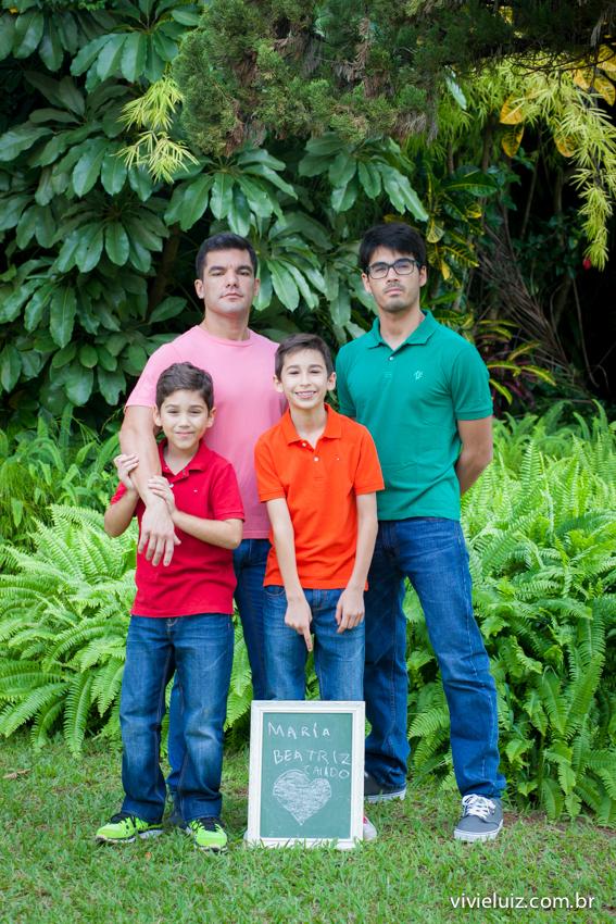 meninos da família