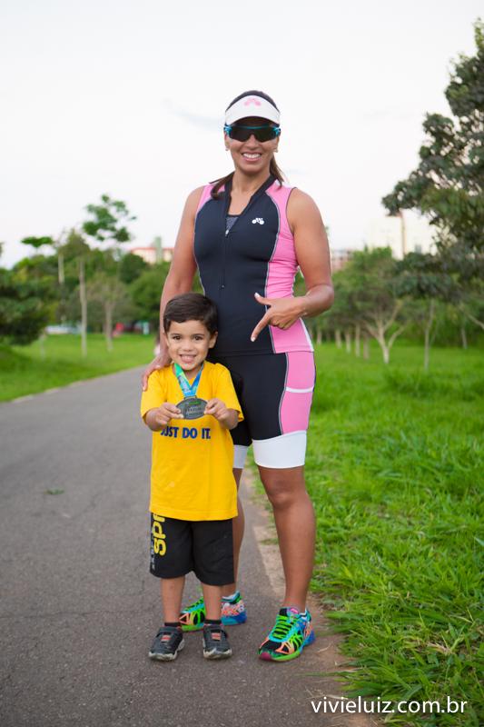 mae e filho corredores