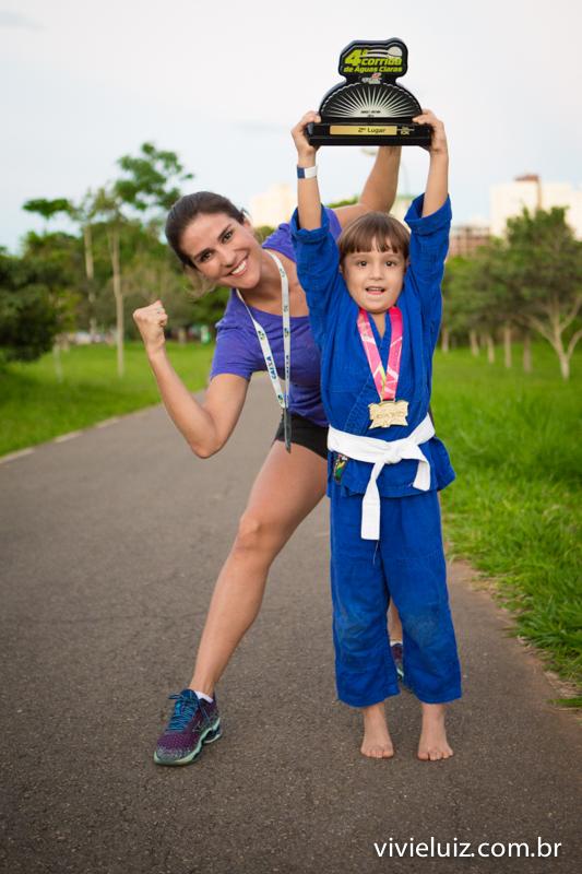 mae e filho judocas