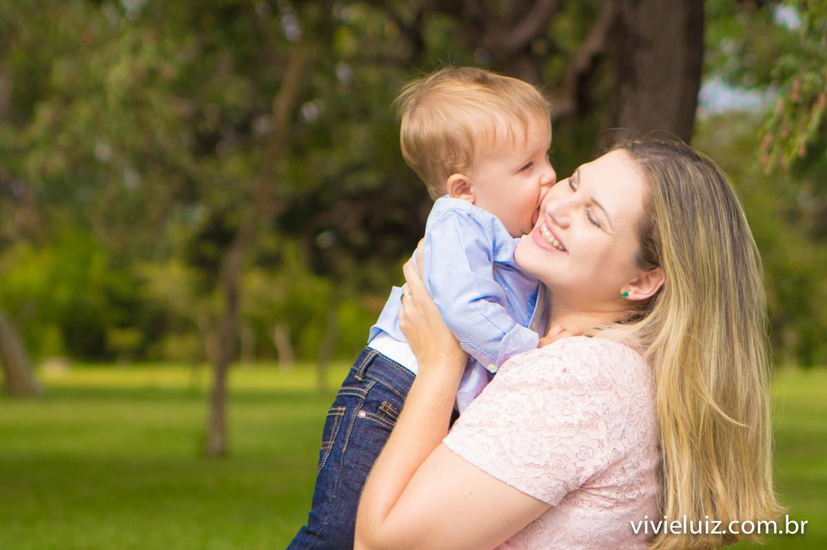 beijo de filho