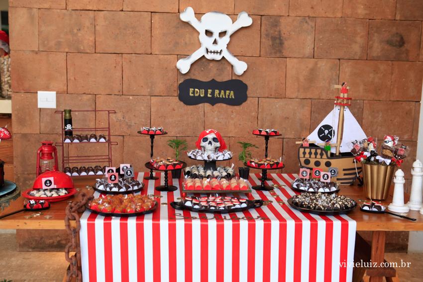 decoração piratas