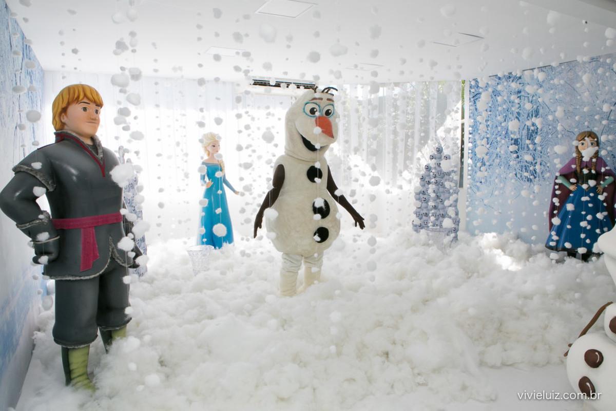 Festa Frozen – mundo fantástico das Festas Criativas