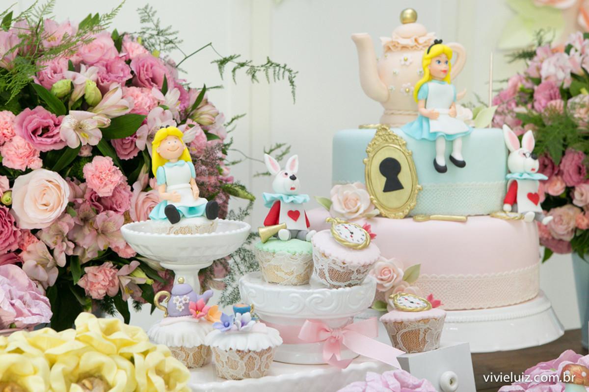 Festa Alice no Pais das maravilhas – 1 aninho