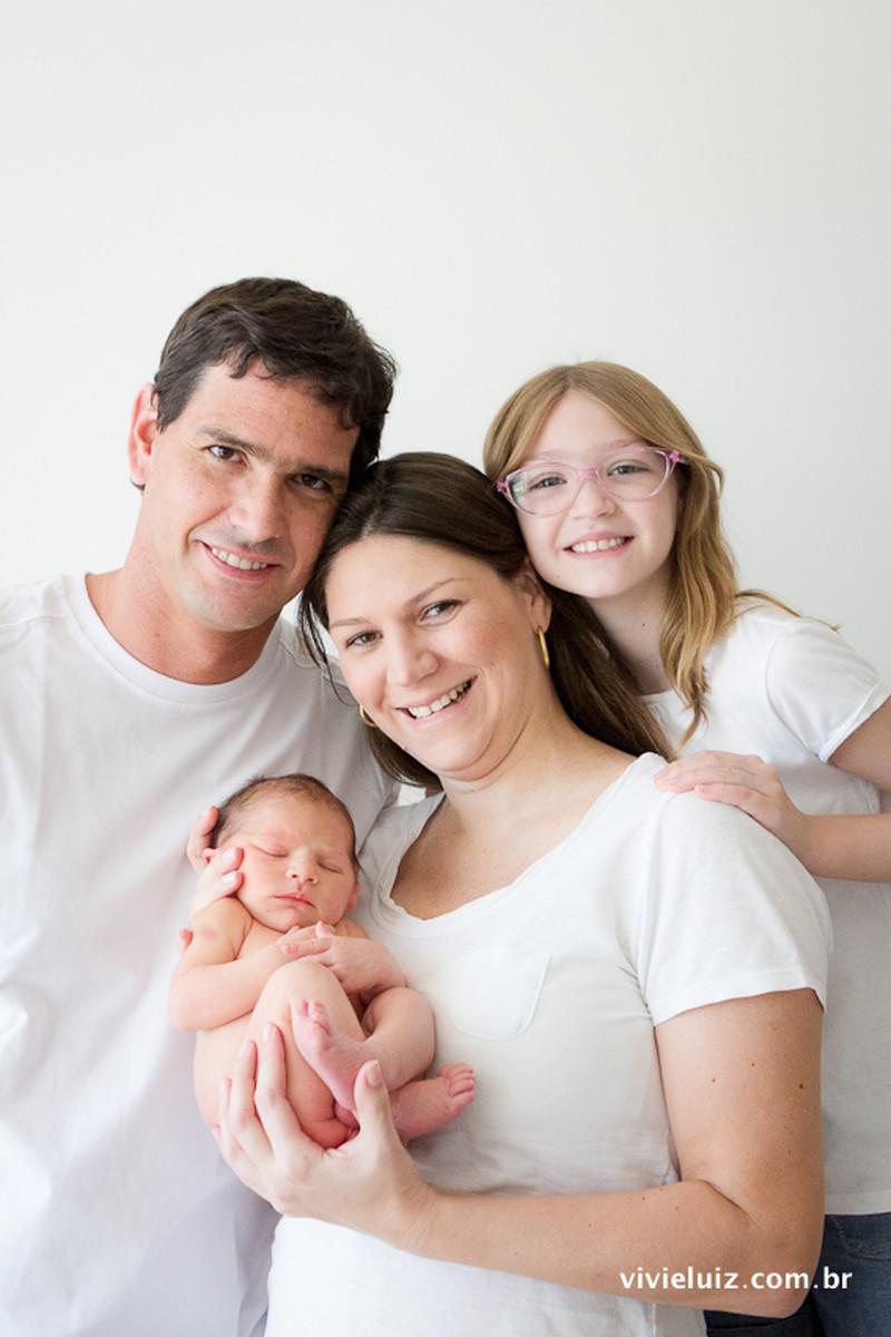 New Born | Vitor e família