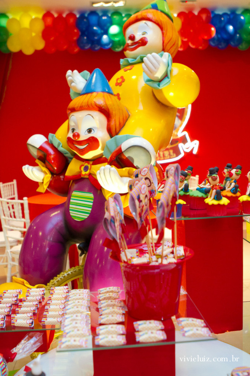 Festa Infantil | Decoração Circo