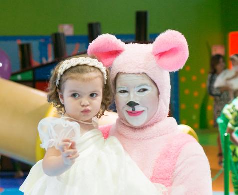 Festas infantis de Carolina
