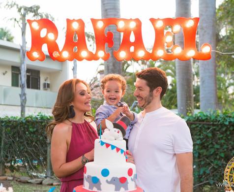 Festas infantis de Rafael