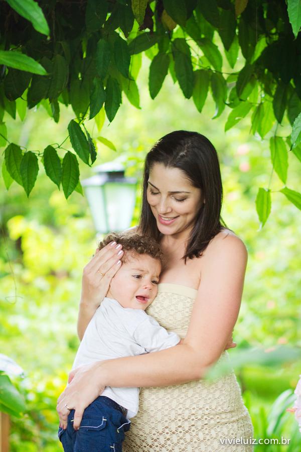 Abraço de mãe filho