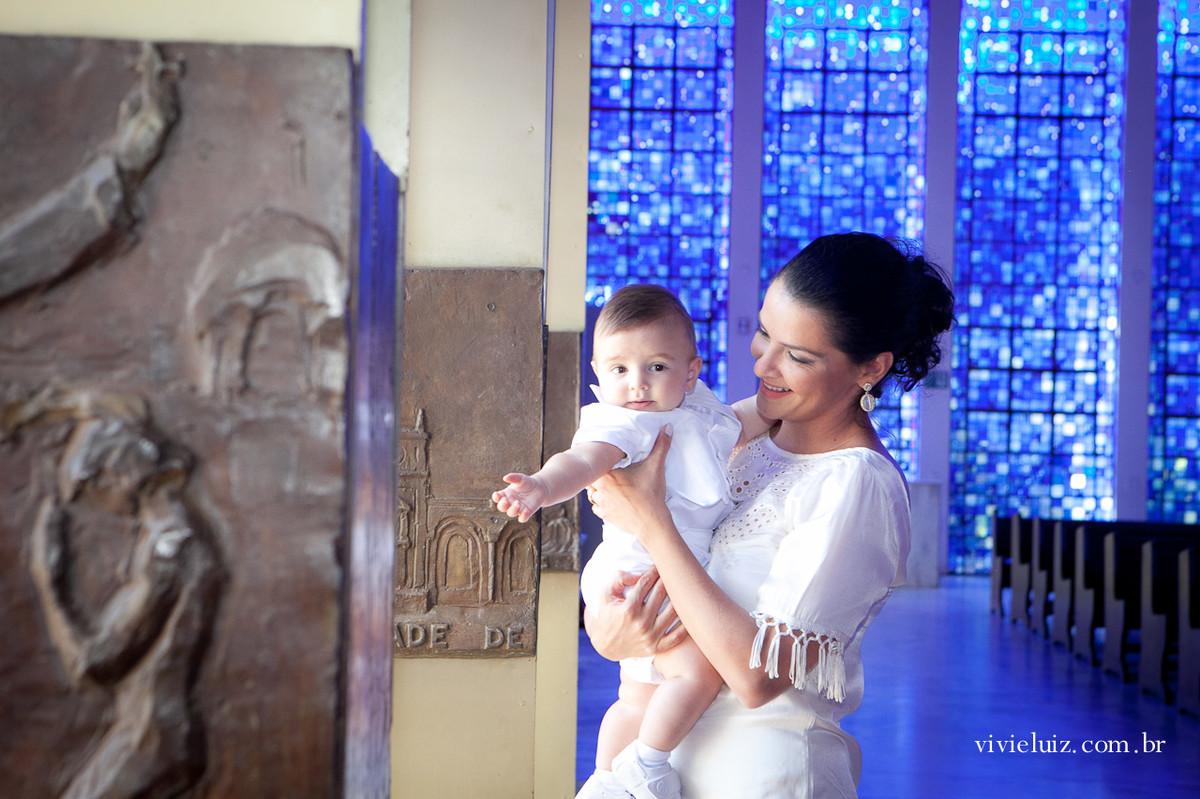 Mãe filha na Catedral