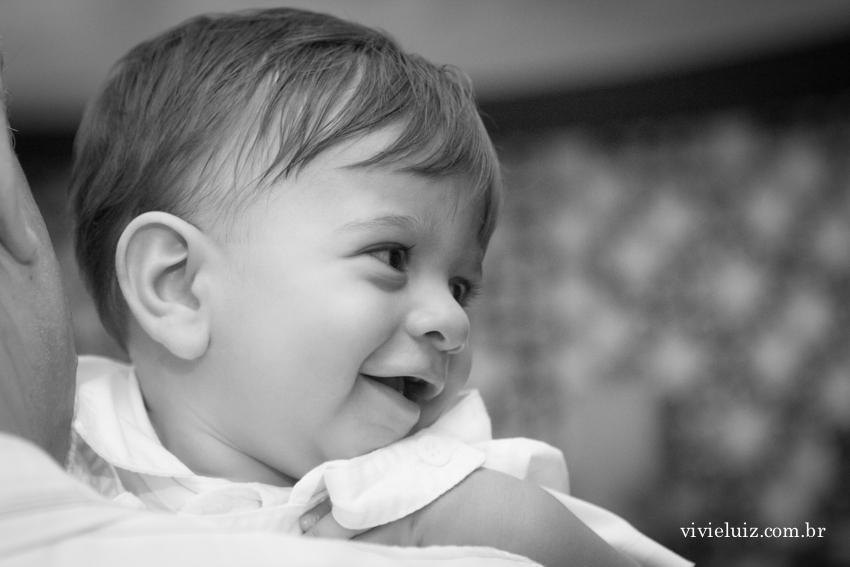 Sorriso do batizado