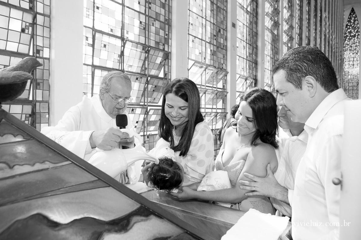 Batizado na igreja Dom Bosco