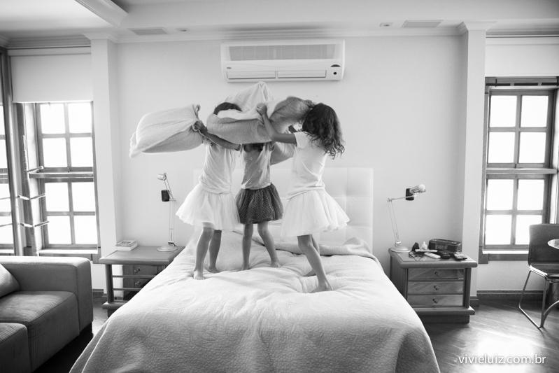 guerra de travesseiro