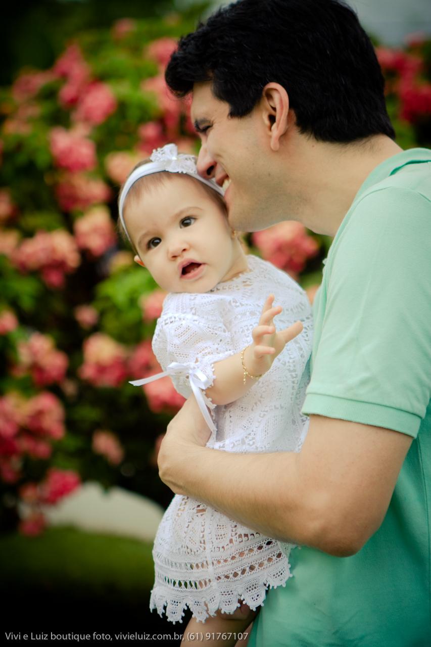 Sorriso de pai confia