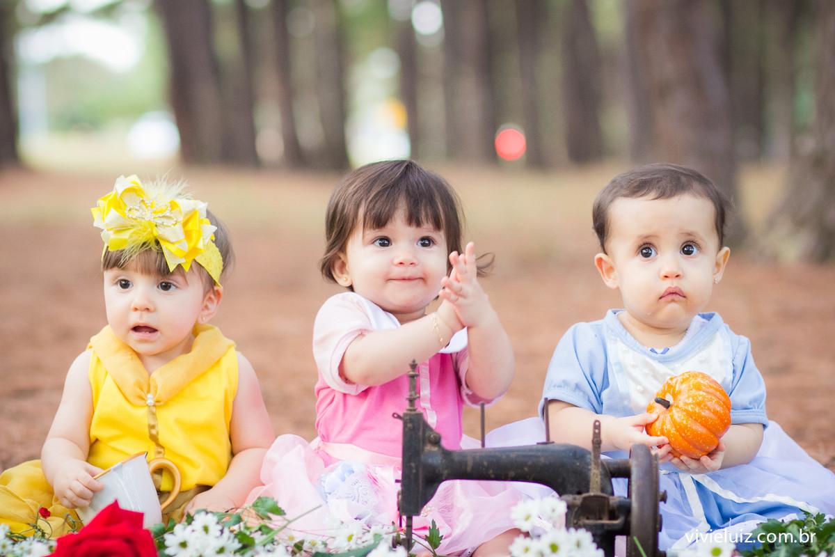 as princesas da disney em criancas
