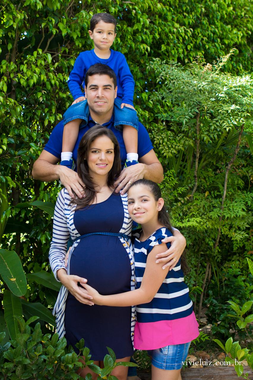 Família grávida em Escadinha