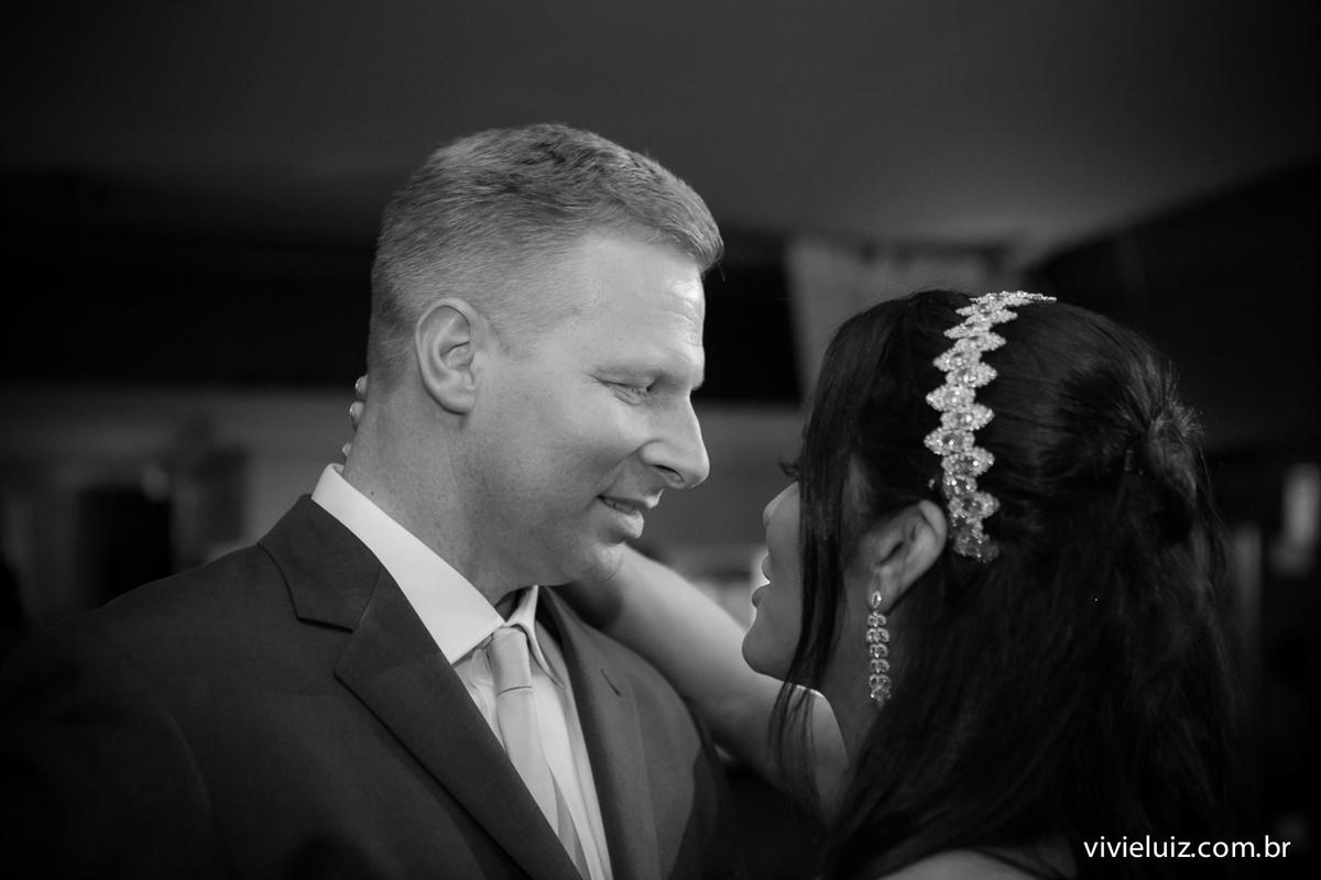 olhares dos noivos