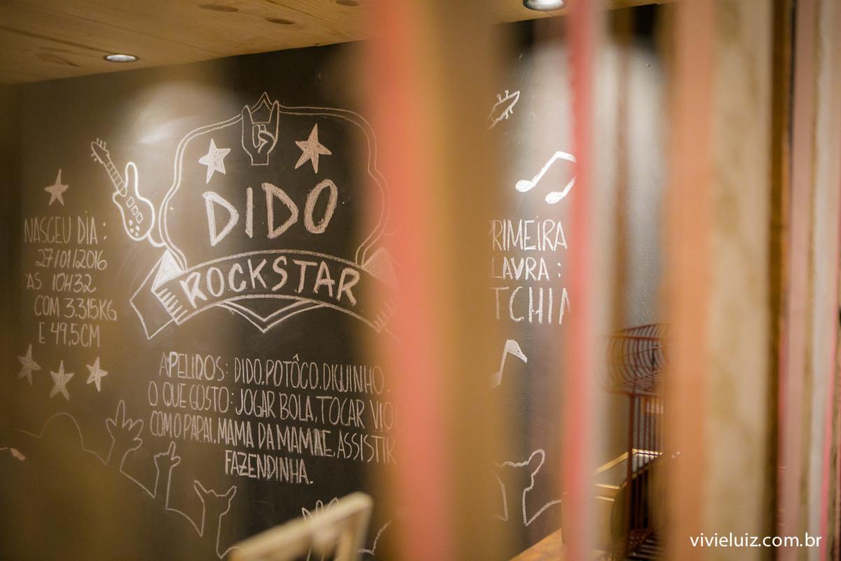 decoracao rock de festa infantil em brasilia com fotos da vivi e luiz fotografias