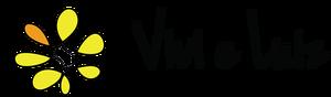 Logotipo de Vivi e Luiz