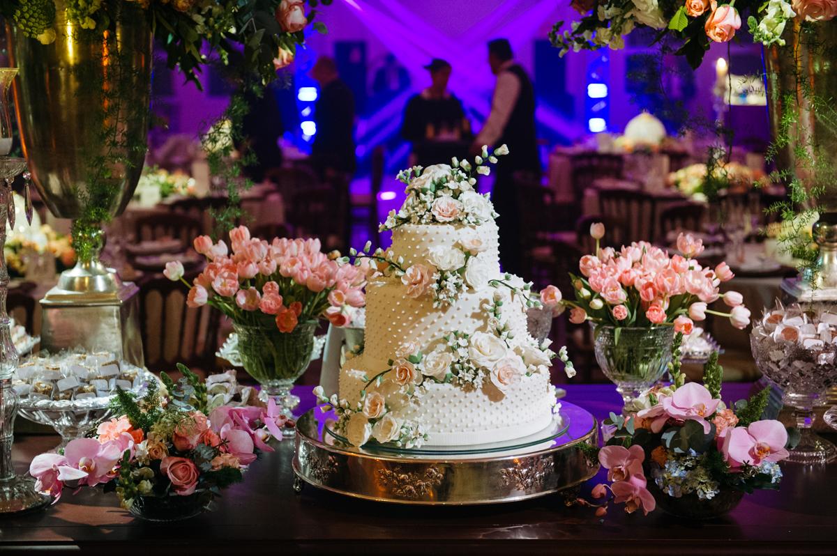 Bolo da casamento Le Palais