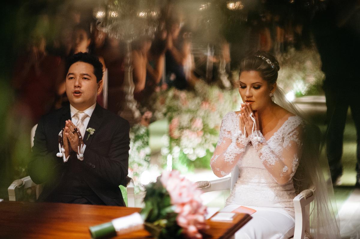 Cerimonia budista de casamento