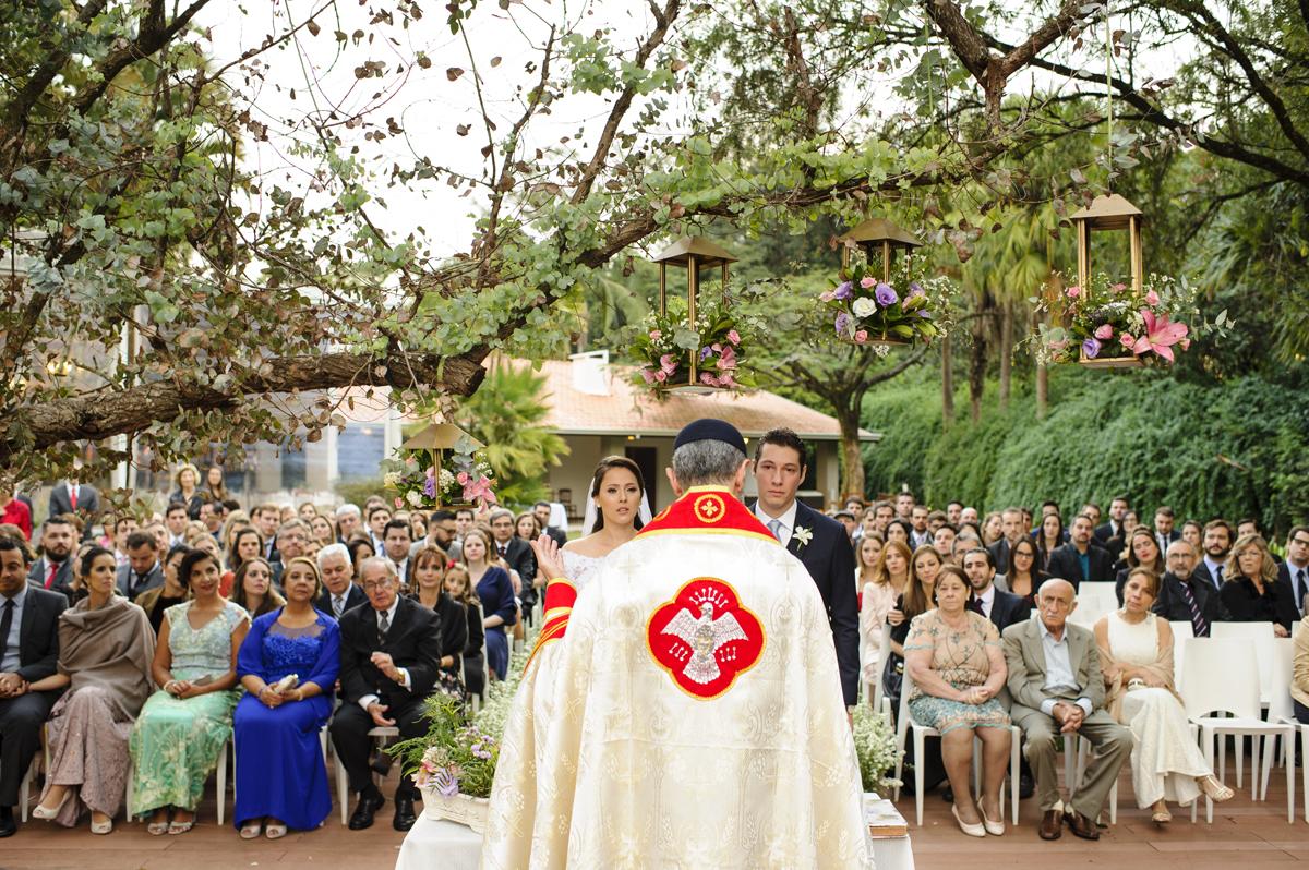 Visão geral da cerimonia em Alto das palmeiras
