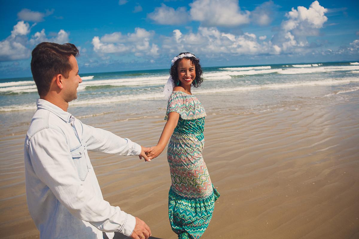 ensaio de casal na praia de bertioga