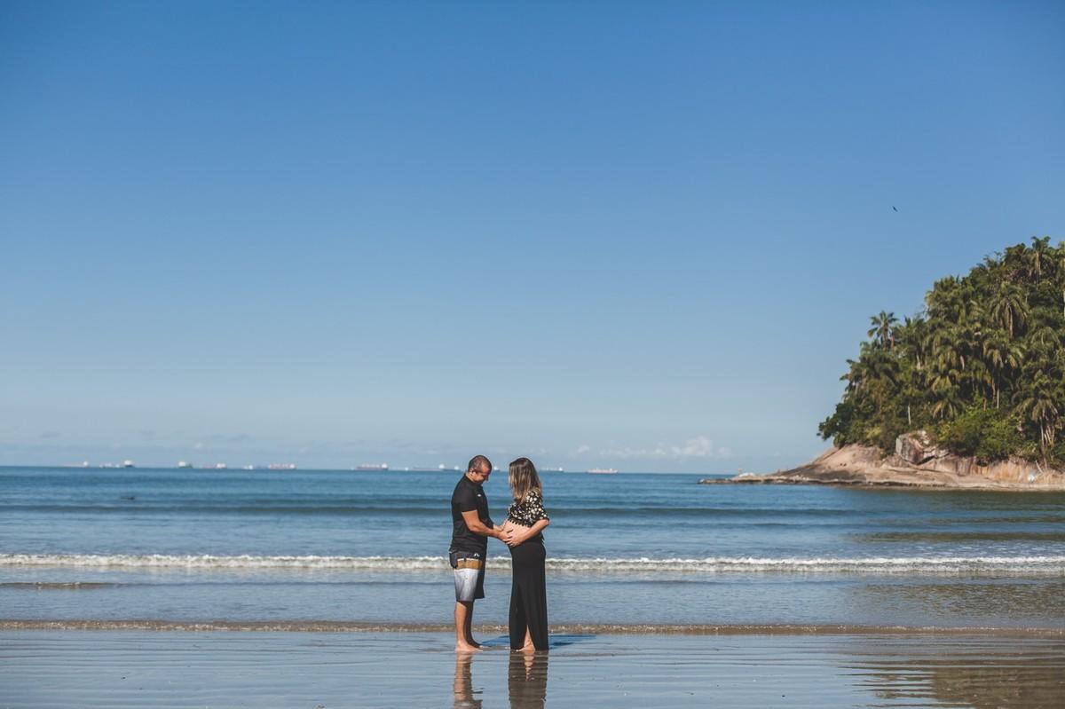 ensaio de gestante praia bertioga