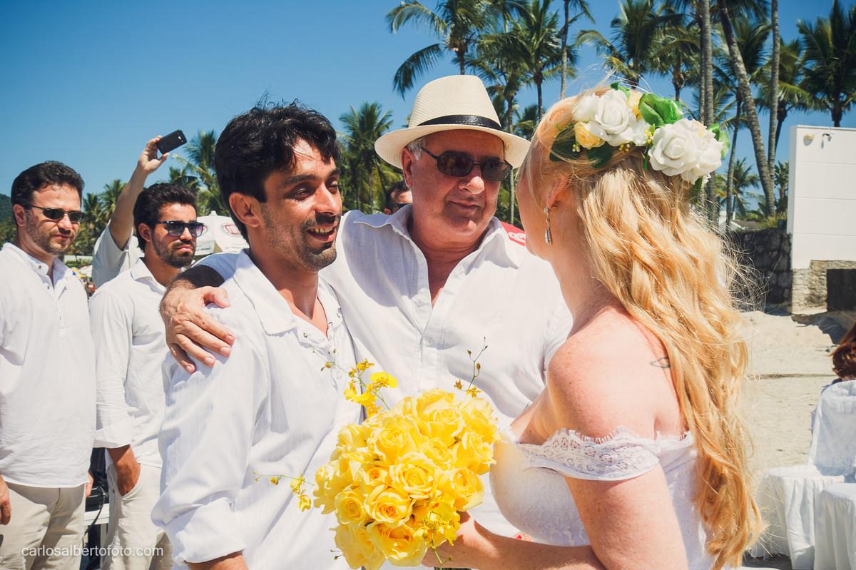 casamento na praia de pernambuco