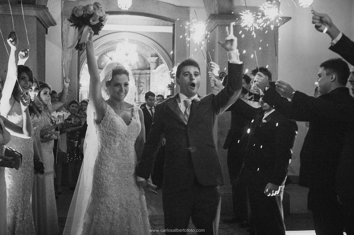 alegria dos noivos