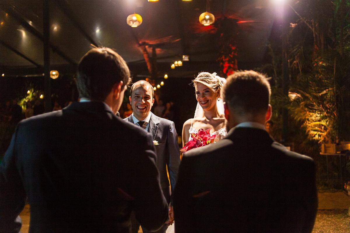 risos dos noivos