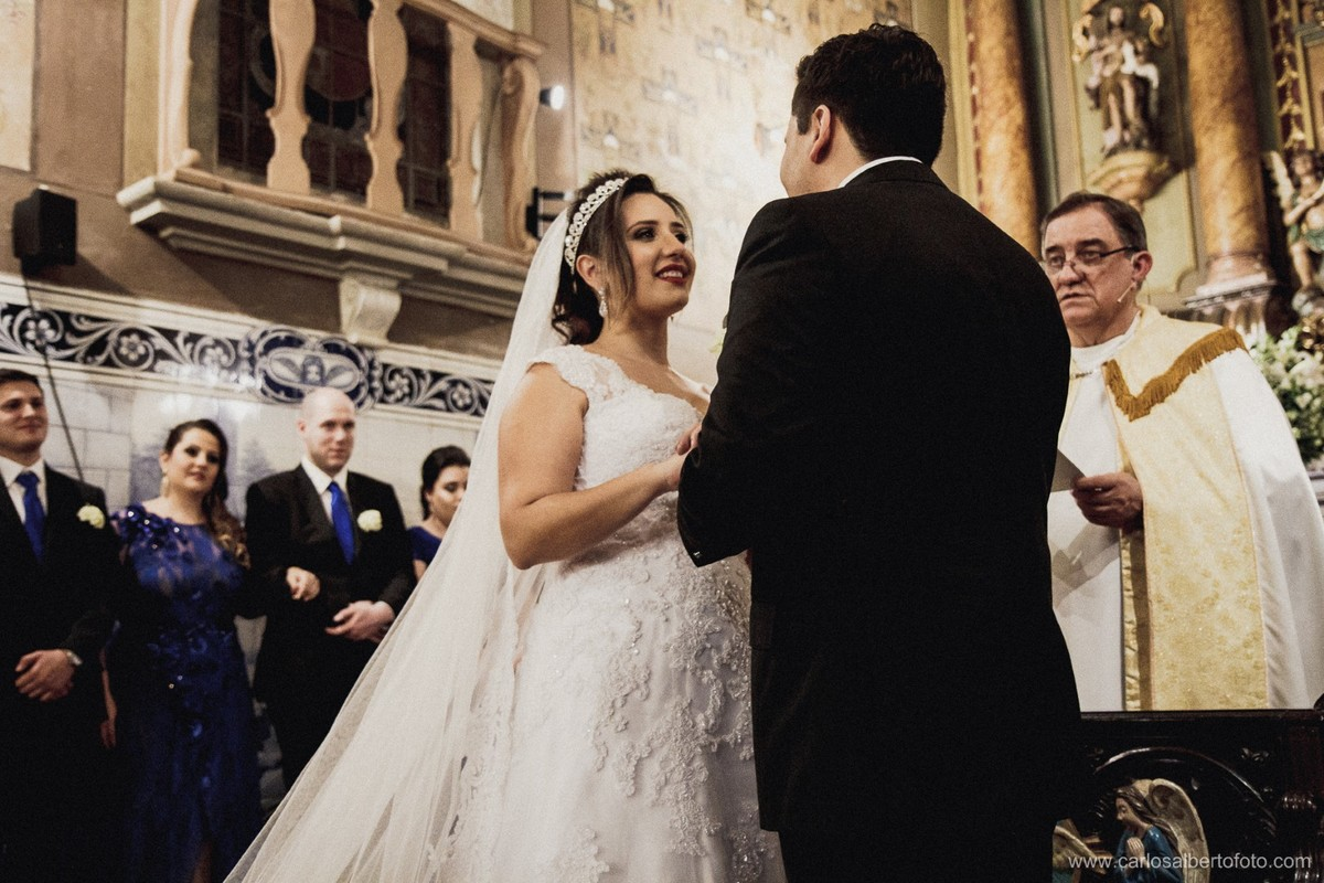 o sim dos noivos