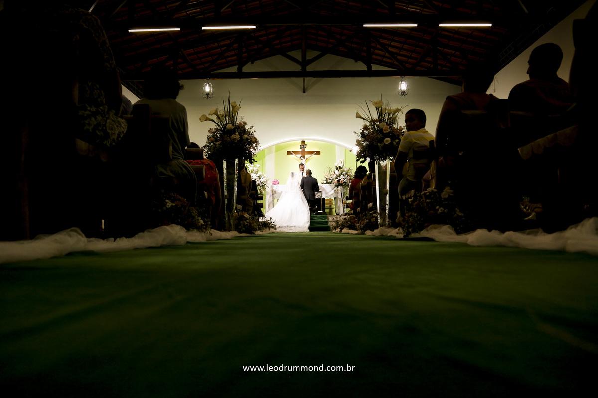 fundo da igreja, tapete verde