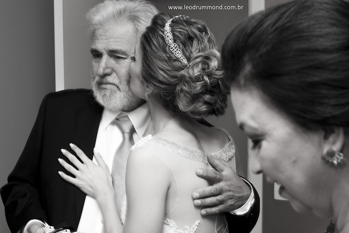 emoção, beijo, pai