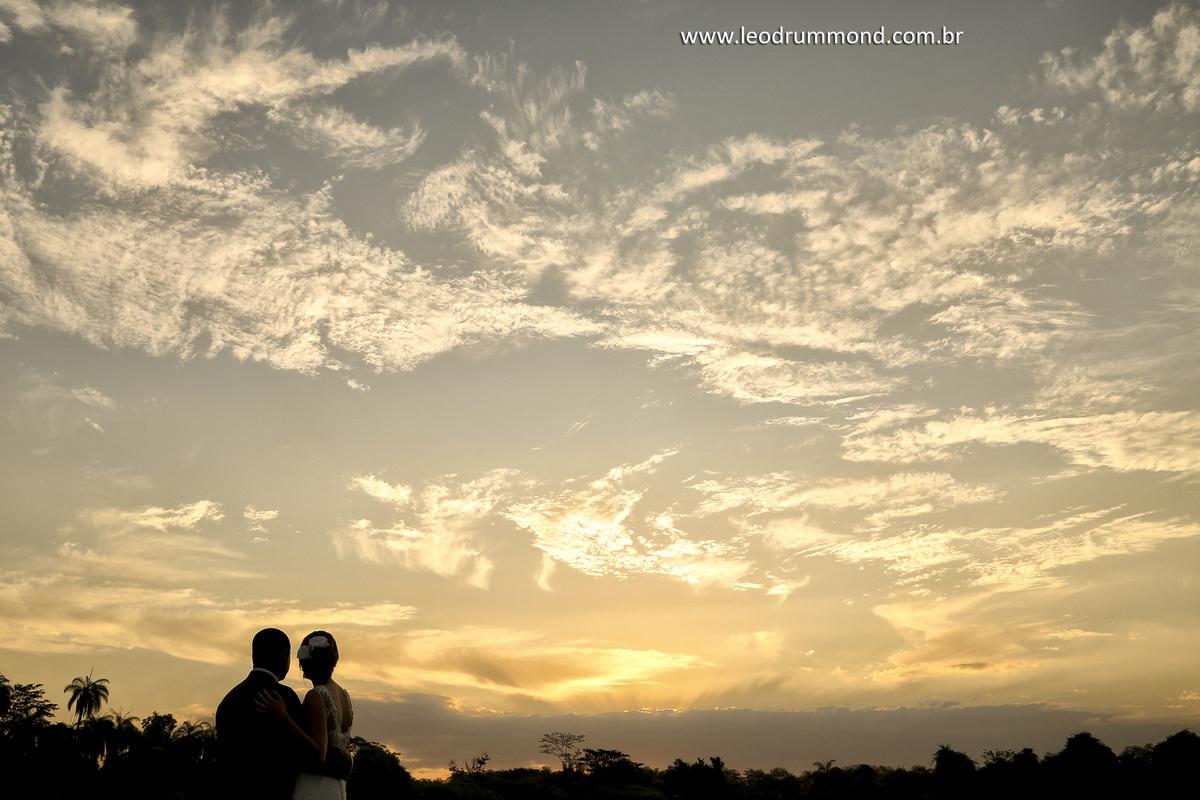 silhueta, nuvens, pousada JB, Fotografia Leo Drummond
