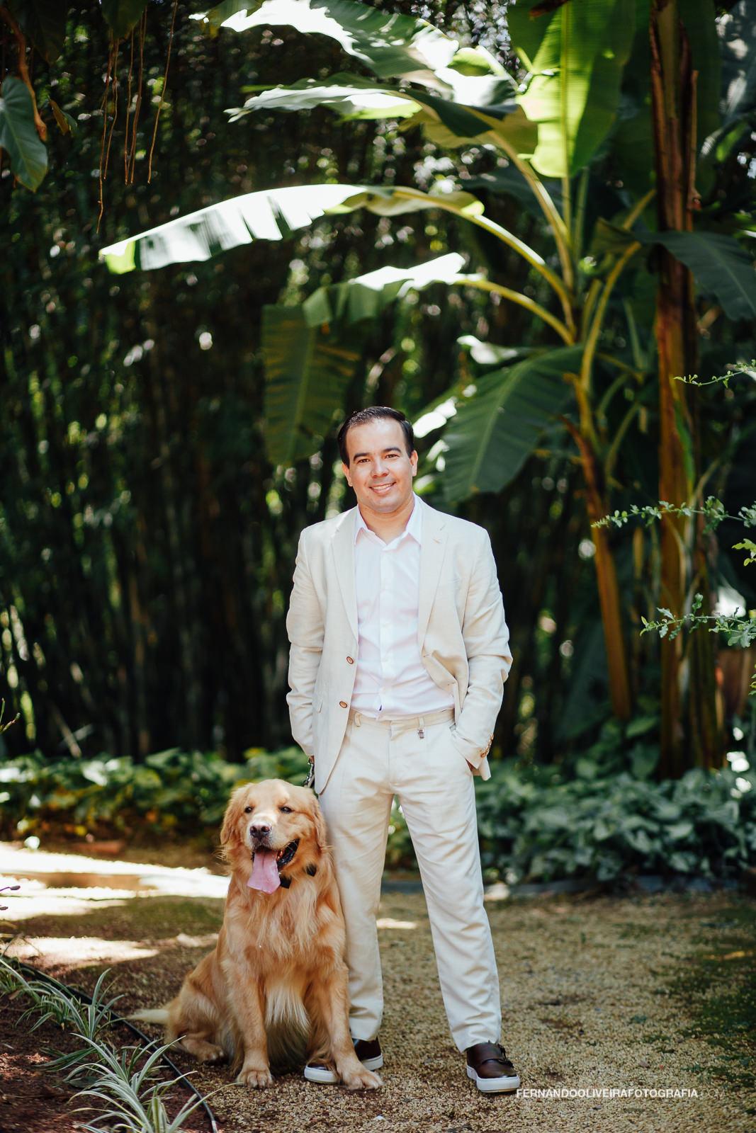 noivo_com_cao_cachorro_mini_wedding_casa_dona_diquinha_rustico_fotografo_casamento_sp