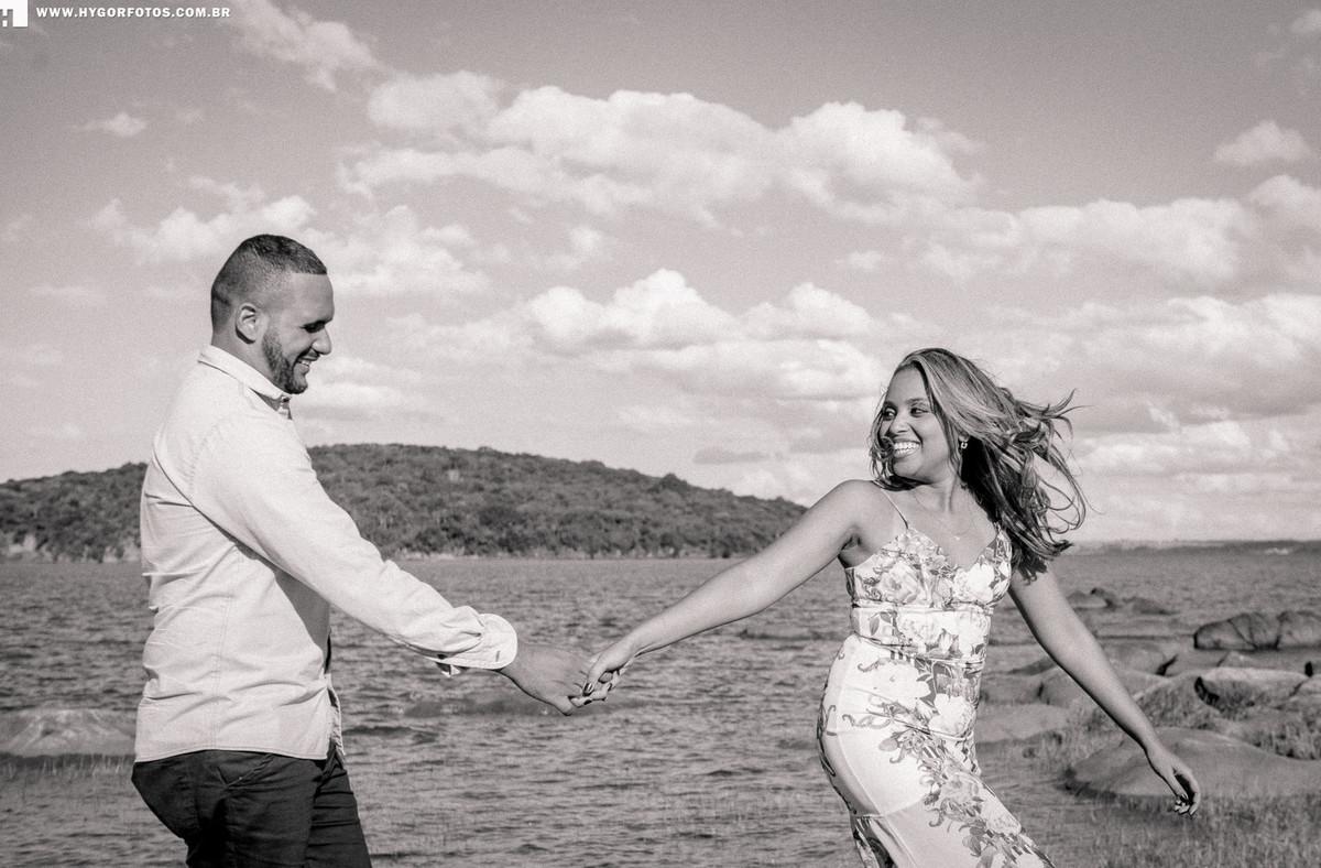 Foto de Ensaio Pré Casamento Thamiris e Alex