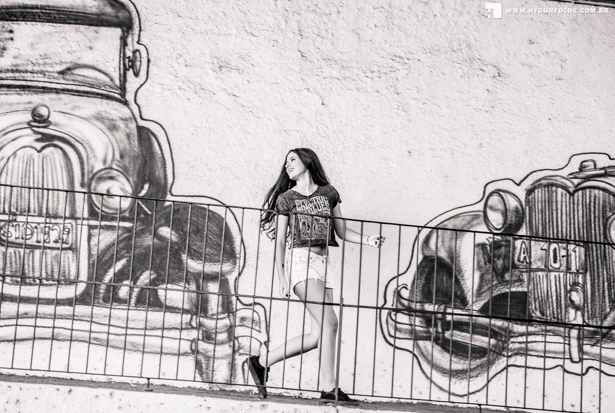Foto de Ensaio 15 anos Vitória Alvim