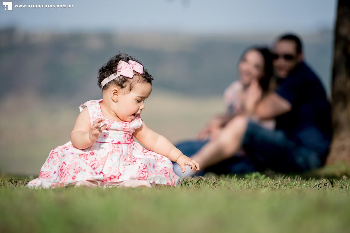 Foto de Ensaio Família  Aline + Bruno + Julia