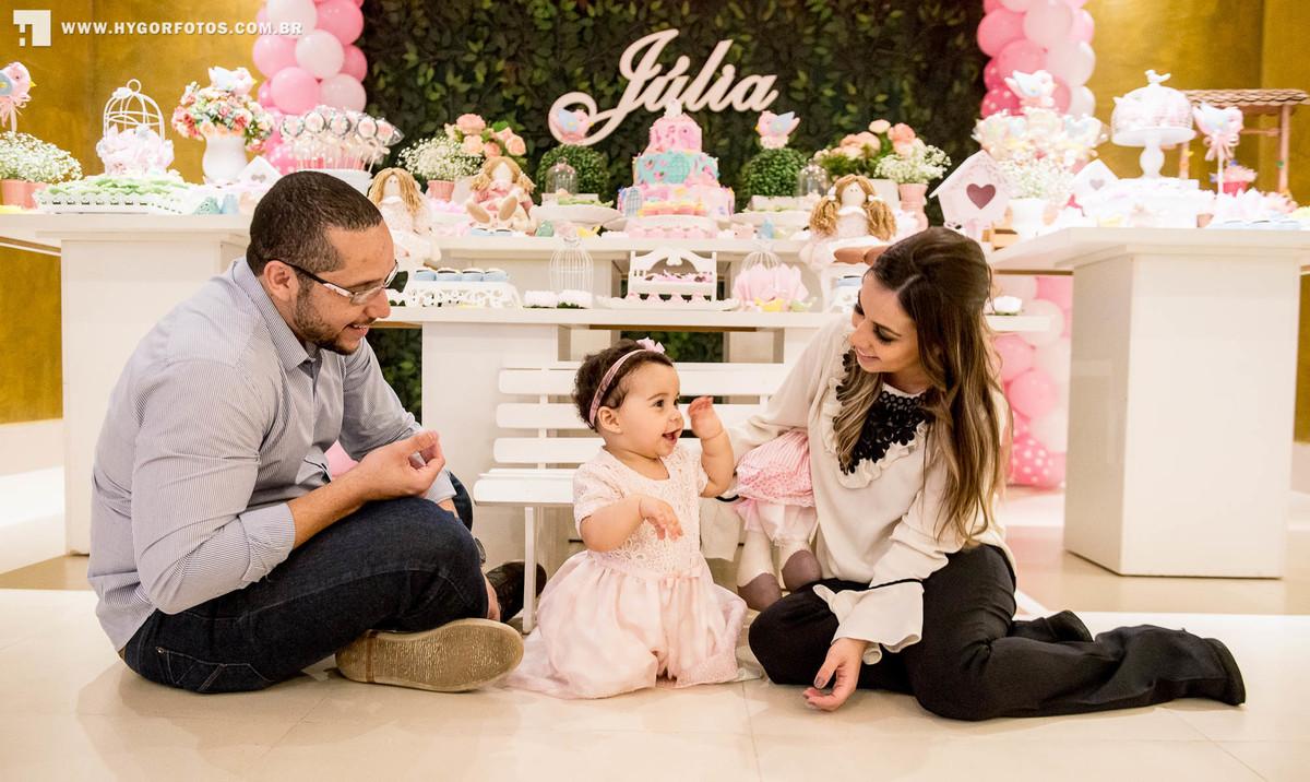 Foto de Júlia 1º aninho