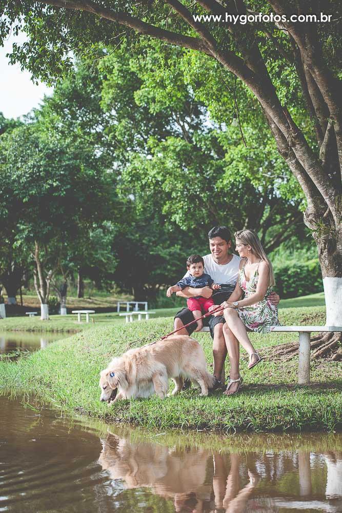 Foto de Ensaio Família – Aline + Guto + Davi + Mel