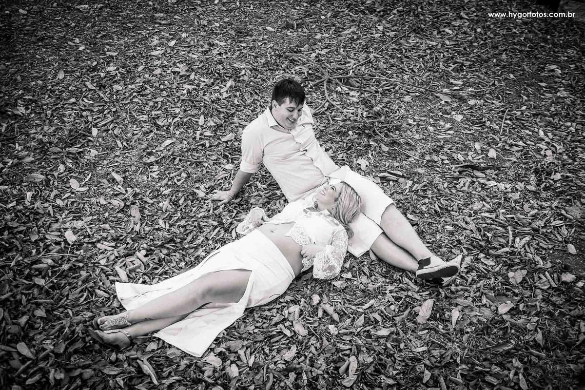 Foto de Ensaio Gestante Stephanie + Bruno + Enrico