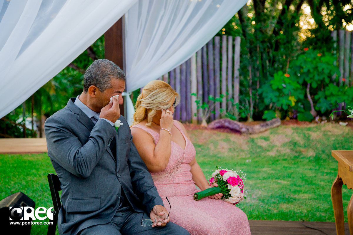 pais dos noivos