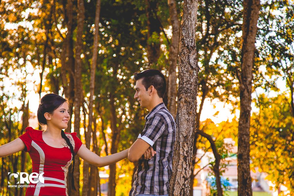 Foto de Keren e Nicholas