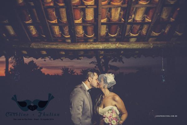 Casamento de Caroline e Jhulian