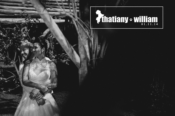 Casamento de Thatiany e William