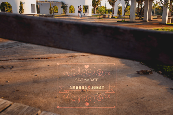 Pré-casamento de Amanda e Jonat